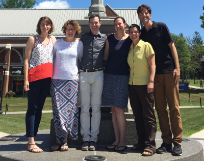 Photograph of the special education faculty at the Neag School of Education